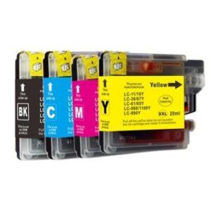 Bro LC1100/LC980 XL BK ink